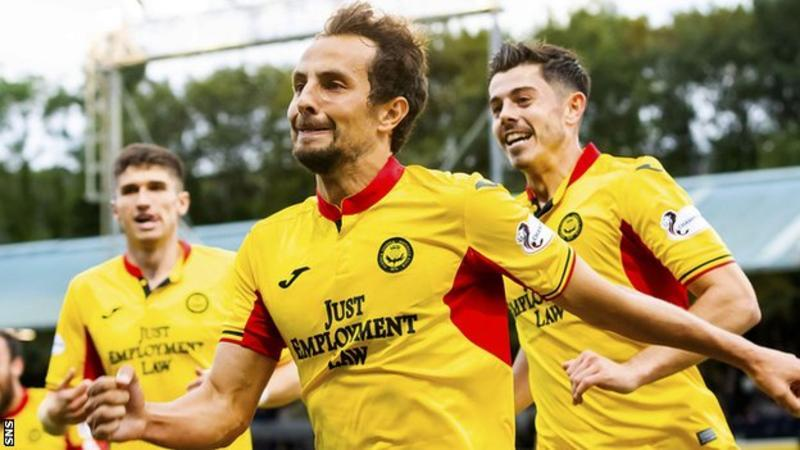 De Vita on loan at Partick Thistle