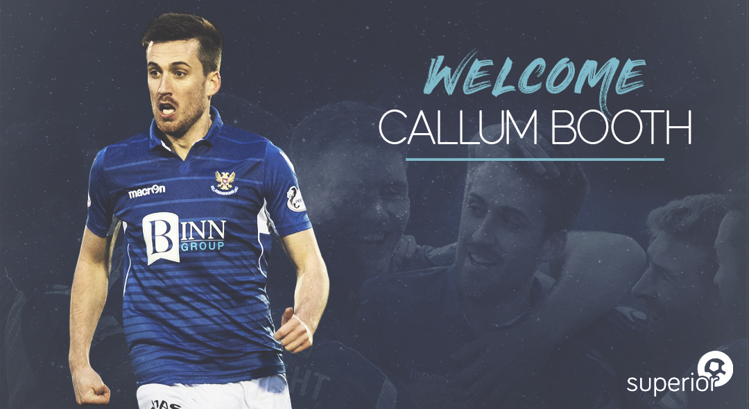 Callum Booth Joins Superior Sports
