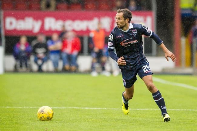 De Vita in action for Ross County