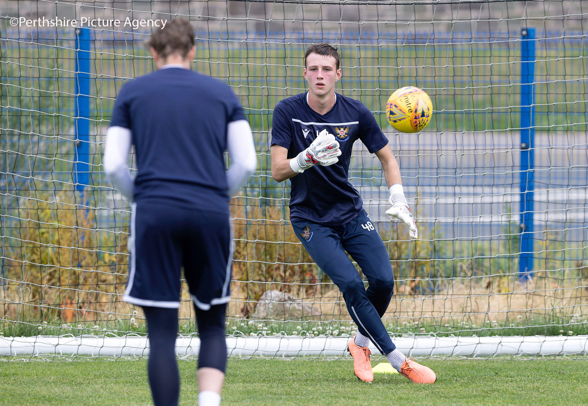 Jack Wills Back In Training With St Johnstone