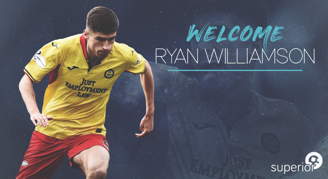 Ryan Williamson Joins Superior Sports
