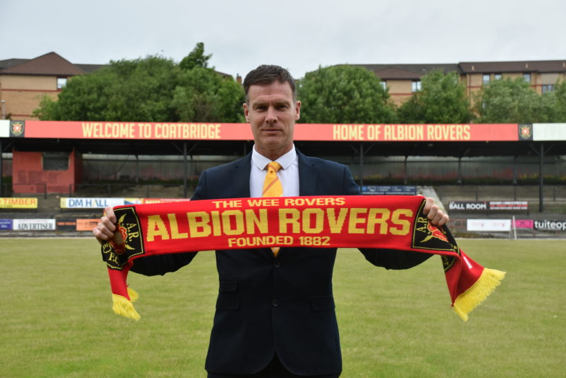 Albion Rovers Appoint Brian Reid As New Manager